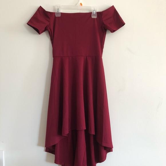 1a65c8b4667a Dresses | Off The Shoulder Hoco Dress | Poshmark